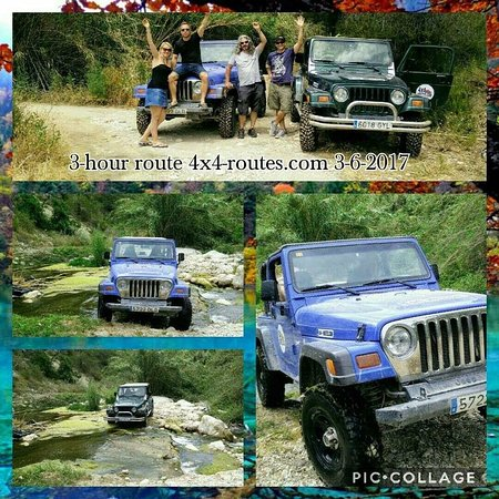 ‪Jeep Safari 4X4-Routes - Day Tours‬