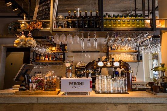 Peroni from the draft obr zek za zen restaurant il for Ristorante in baita vicino a me