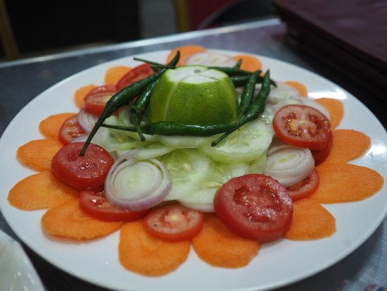 Green Salad Picture Of Diamond Ring Pure Vegetarian Indian Restaurant Mandalay Tripadvisor