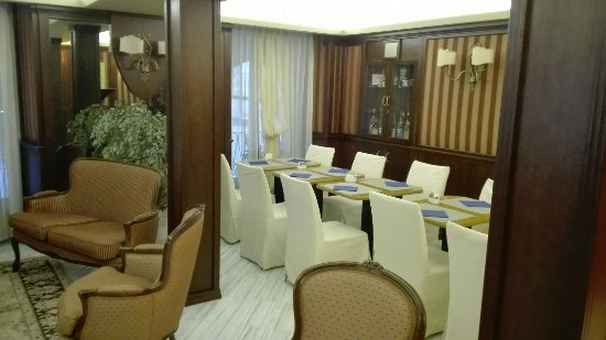 Best Western Hotel Principe: Sala colazione e vista dalla stanza