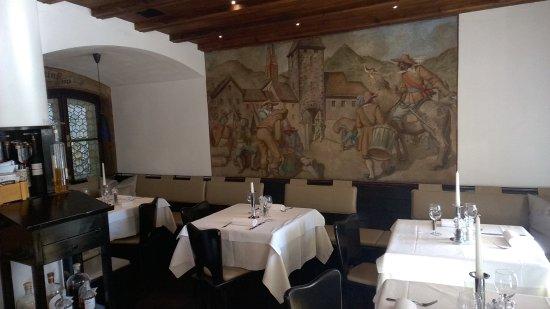 Restaurant Sigmund Ristorante: sala da pranzo 1.piano con affreschi del 1500