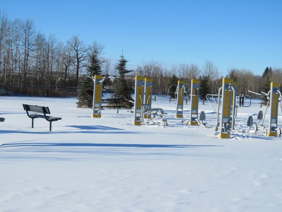 Red Deer, Canada: Workout area