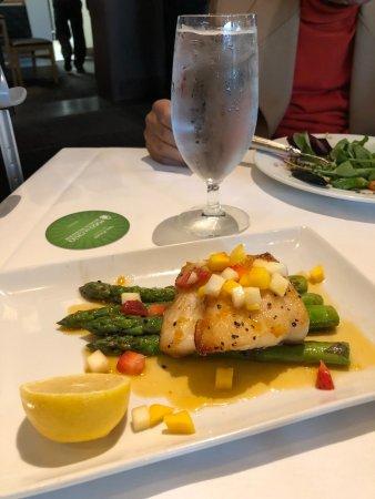 Fogo de Chao Brazilian Steakhouse : Sea Bass