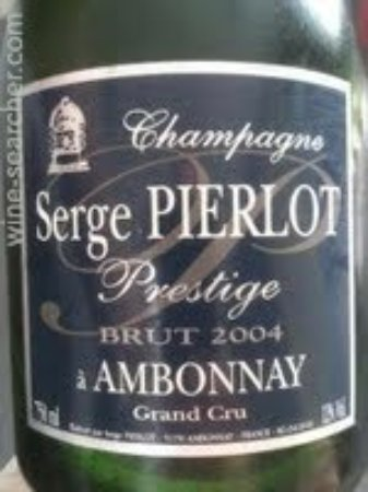 Ambonnay, Francia: Fles Brut Prestige Serge Pierlot