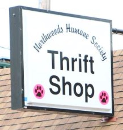 Hayward, WI: Look for the sign on Third Street with the Pink Paw Logo