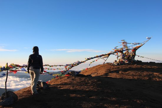 Nepal: wonderful view points from pike peak