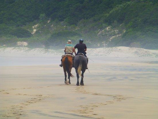 Kei Mouth, South Africa: Beach trail