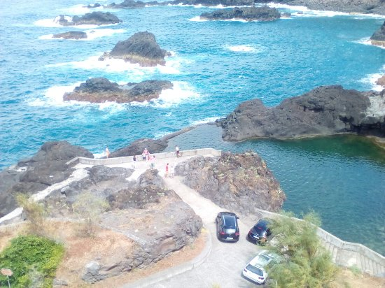Vista panor mica de las piscinas naturales photo de for Portugal piscinas naturales