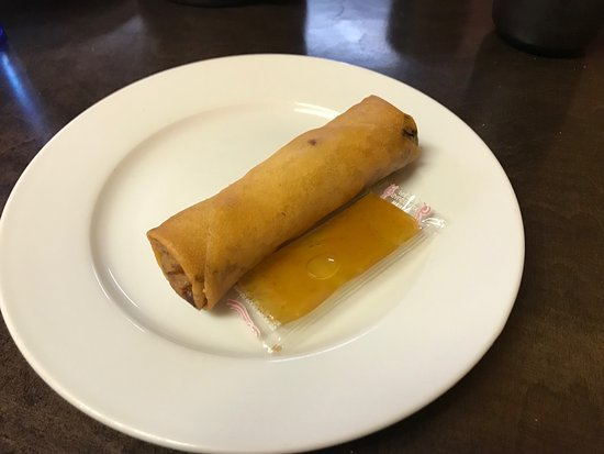 Olds, Canada: Tasty egg roll