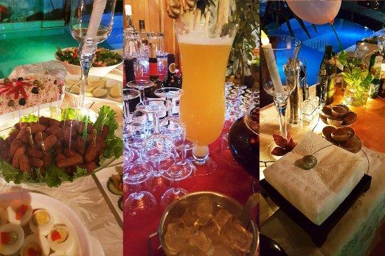 Cena de fin de a o picture of restaurant villa lagarto for Cenas para fin de ano