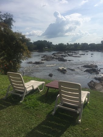 "Bottopassi, Suriname: the rapids right in front of the resort are called ""Sula's"" in Surinamees. great swimming!"