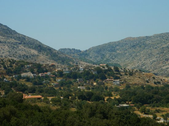 Lasithi Prefecture, Greece: keine Mühlen mehr zu sehen