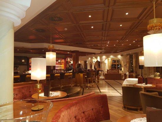 Hotel Mooshof : Lobby und Barbereich