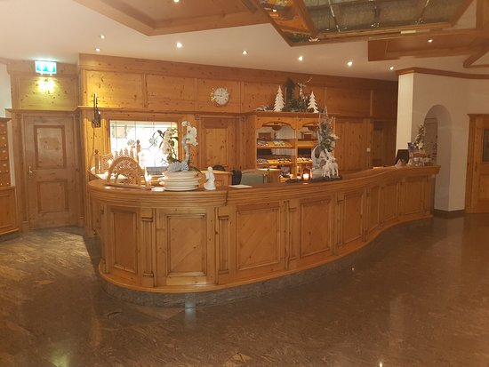 Hotel Mooshof : Empfang/Rezeption