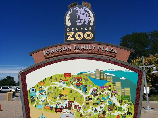 Denver Zoo Map Zoo map at the entrance   Picture of Denver Zoo, Denver   TripAdvisor