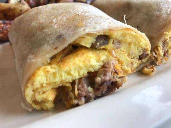 Hi-Lo Cafe: Pork breakfast burrito