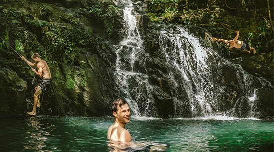 Bocawina Rainforest Resort & Adventures: Our  natural waterfall pools