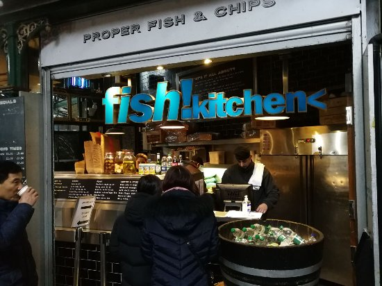 Fish Kitchen Borough Reviews