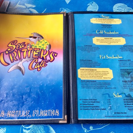Sea Critters Cafe - Picture of Sea Critters Cafe, St  Pete