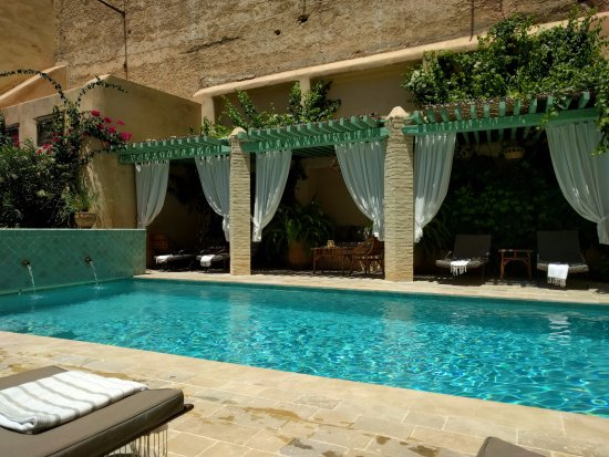 Riad Laaroussa Hotel and Spa: Amazing pool