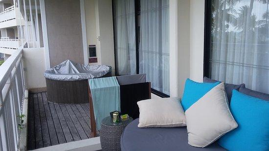 Jacuzzi Suite Balcony Picture Of Cape Panwa Hotel Cape