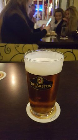 The Mitre Pub: Pint of nectar.............