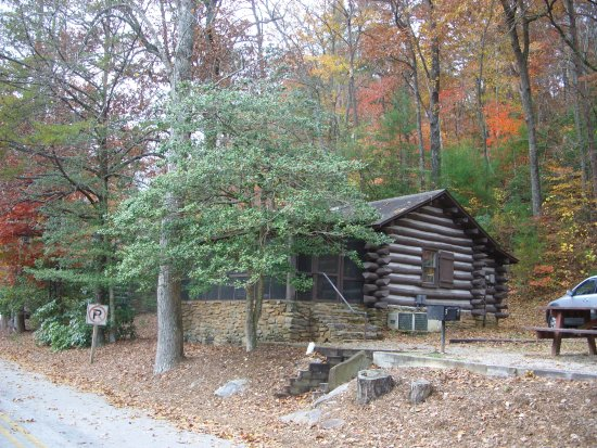 Nearby hiking trails up the mountain from vogel state park for Cabin rentals near hiking trails