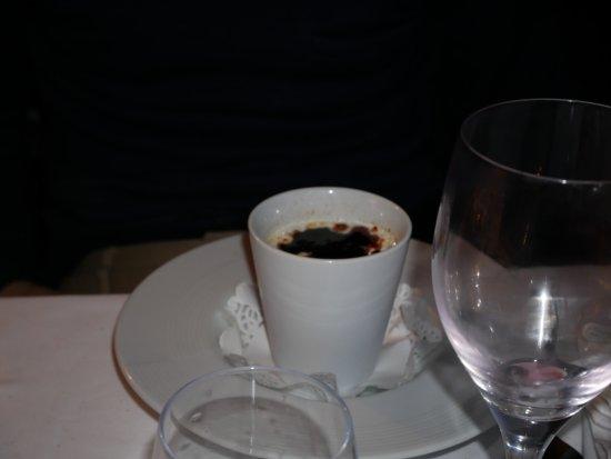 Restaurant Alexandra : pot de vanille