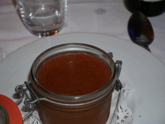 Restaurant Alexandra : mousse au chocolat