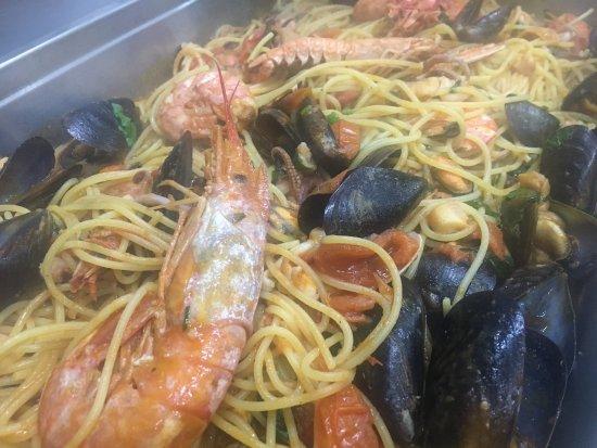 Gropello Cairoli, Italie : Spaghetti benvenuti al sud