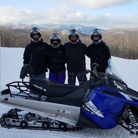 Snowmobile Vermont: A great time