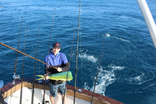 Mani mahi to start the day photo de double threat for Delaware fishing charters