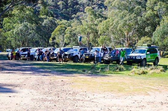 Bathurst, Australia: The team for the day