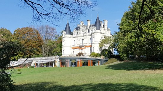 Veigne, França: The chateau