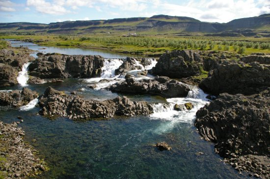 Bifrost, Islandia: Glanni Waterfall
