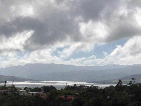Nuevo Arenal, Costa Rica: view from balcony