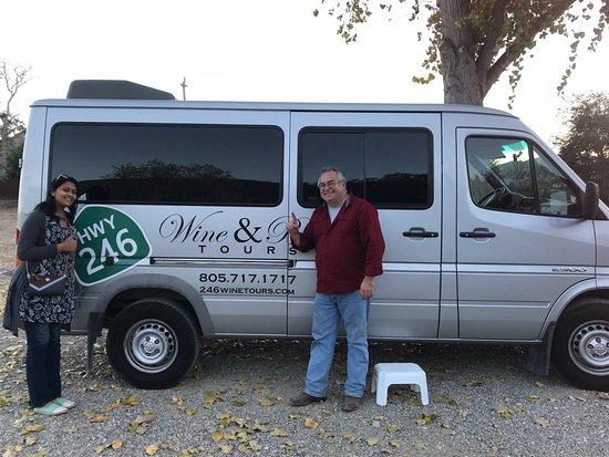 Tour de pequeños grupos por el campo vinícola de Santa Bárbara: Thank you Dennis!!