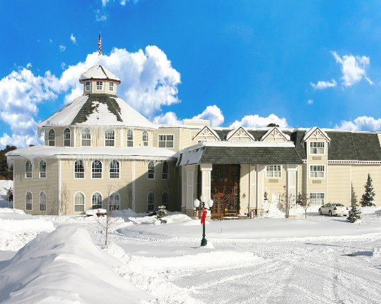 Cascade is beautiful with sparkling snow & blue skies