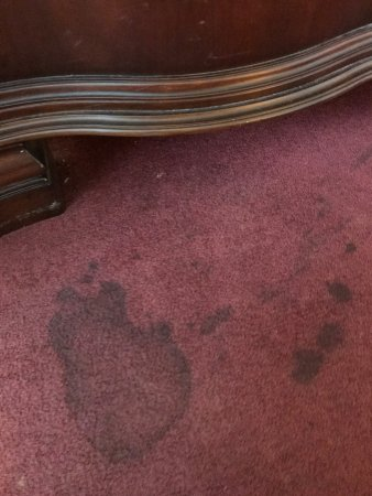 Jefferson, TX: stained carpet