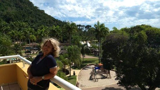 Vila Galé Eco Resort de Angra: Toda a vista dos apartamentos de frente é muito bonita