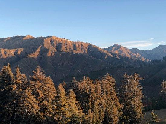 Ridge behind Post Ranch Inn