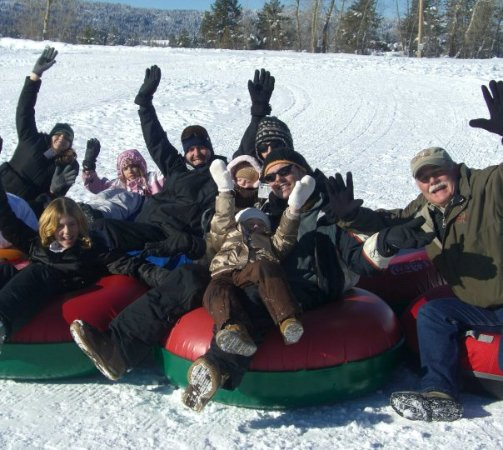 Ashley Inn: Go tubing as a family, free or at the Activity Barn $.
