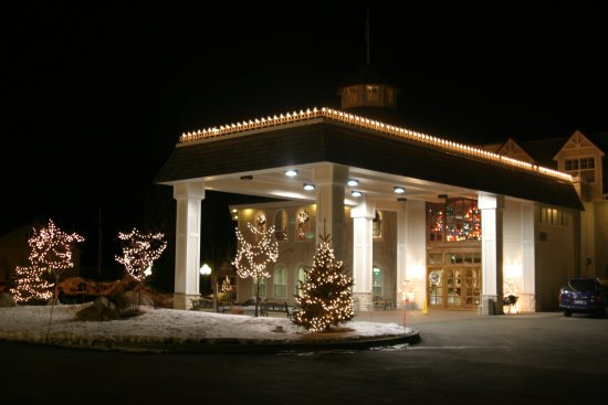 Ashley Inn: We love decorating for Christmas and the winter