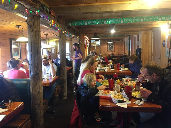 Fairplay, CO: The dining room