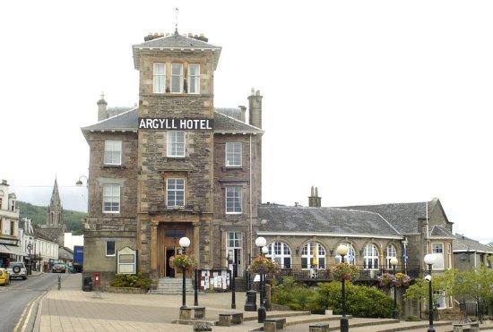 Argyll Hotel: Exterior