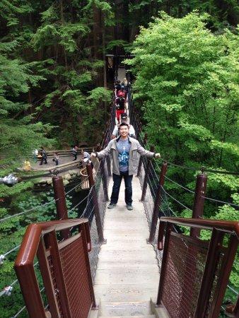 North Vancouver, Canada: Capilano Suspension Bridge