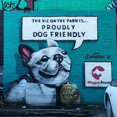 Marrickville, Australien: Vic on the Park