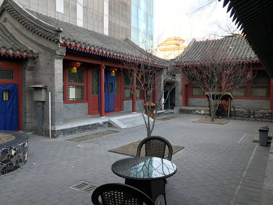 Jingyuan Courtyard Hotel: Hotel compound. Simple yet serene