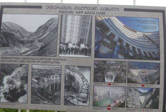 Jvari, Geórgia: Этапы строительства ГЭС