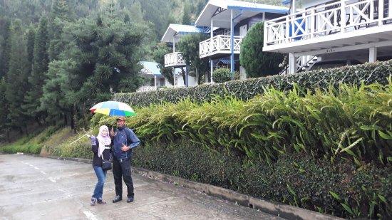 Exotic Borneo Travel Management: Stayed @ Kinabalu Pine Resort. Best view of Mt. Kinabalu from here. Good choice Exotic Borneo.